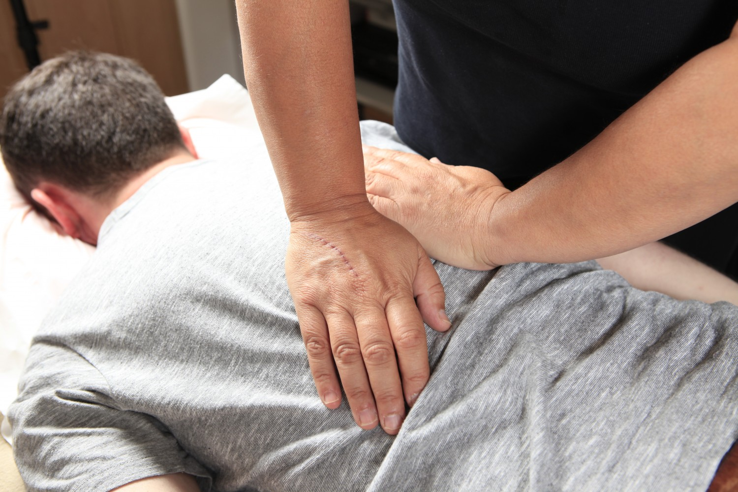 Tuina medical Chinese massage